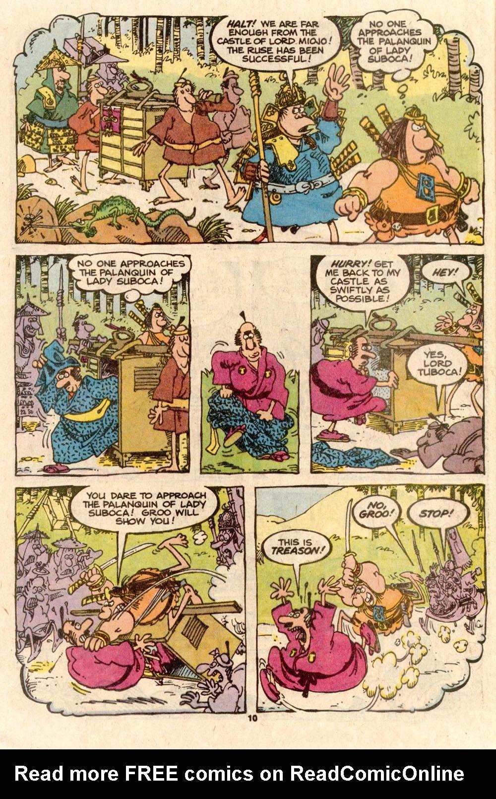Read online Sergio Aragonés Groo the Wanderer comic -  Issue #56 - 9