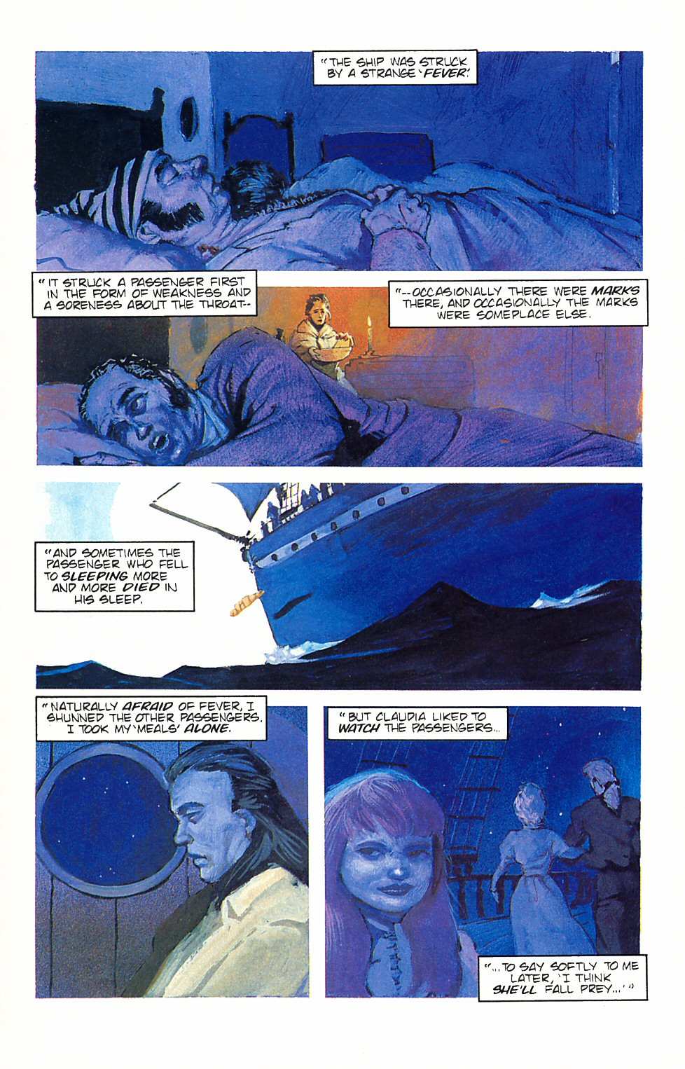 Read online Anne Rice's Interview with the Vampire comic -  Issue #6 - 11