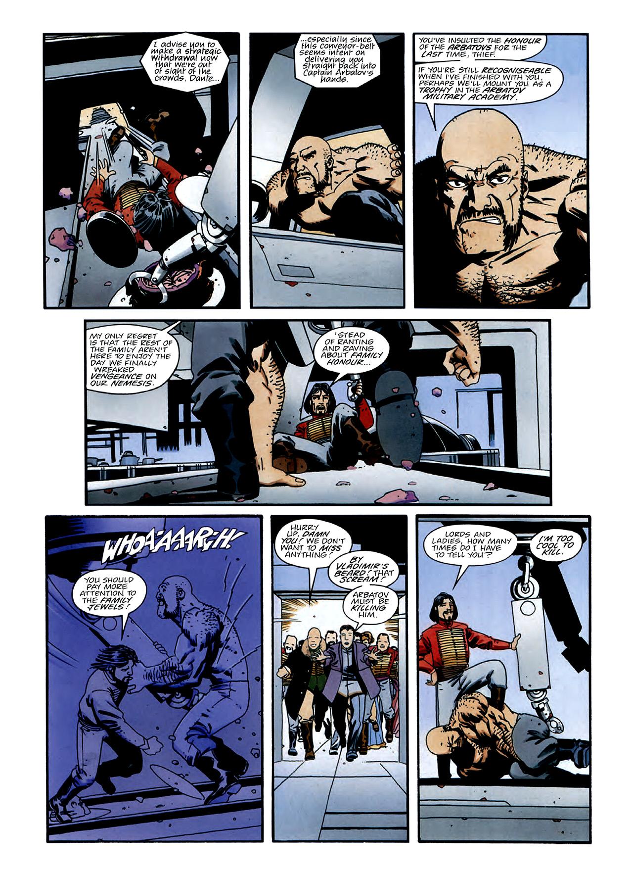 Read online Nikolai Dante comic -  Issue # TPB 3 - 14