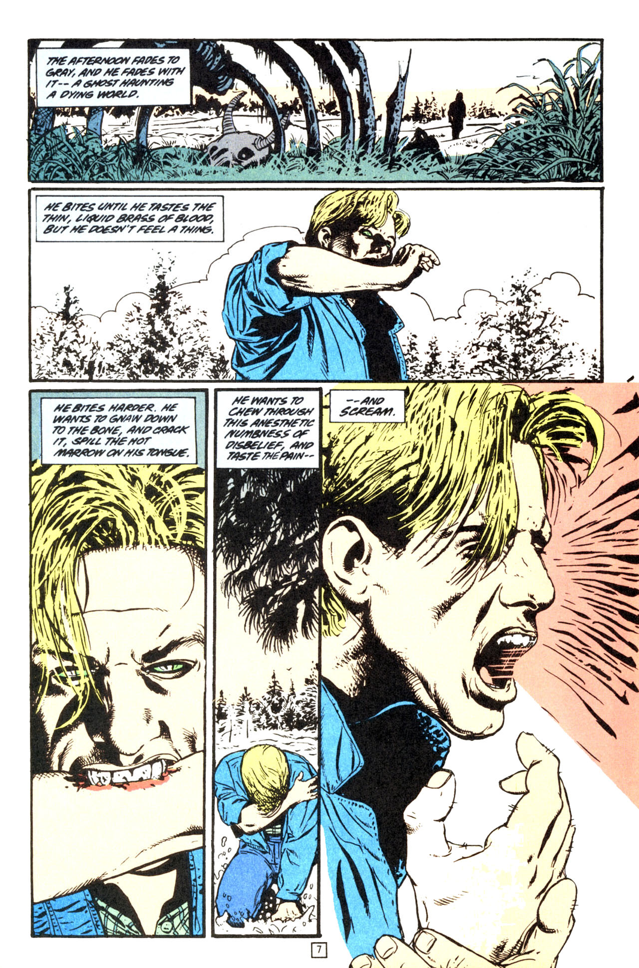 Read online Animal Man (1988) comic -  Issue #70 - 8
