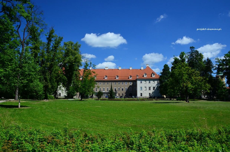Pałac rodziny von Schaffgotsch, widok od strony parku