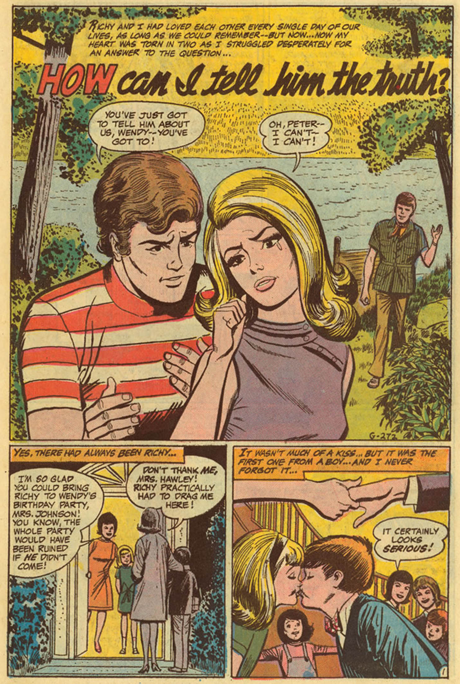 Read online Secret Hearts comic -  Issue #139 - 11