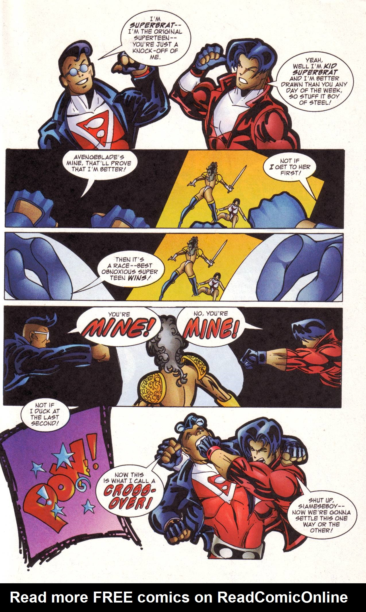 Read online Avengeblade comic -  Issue #2 - 15