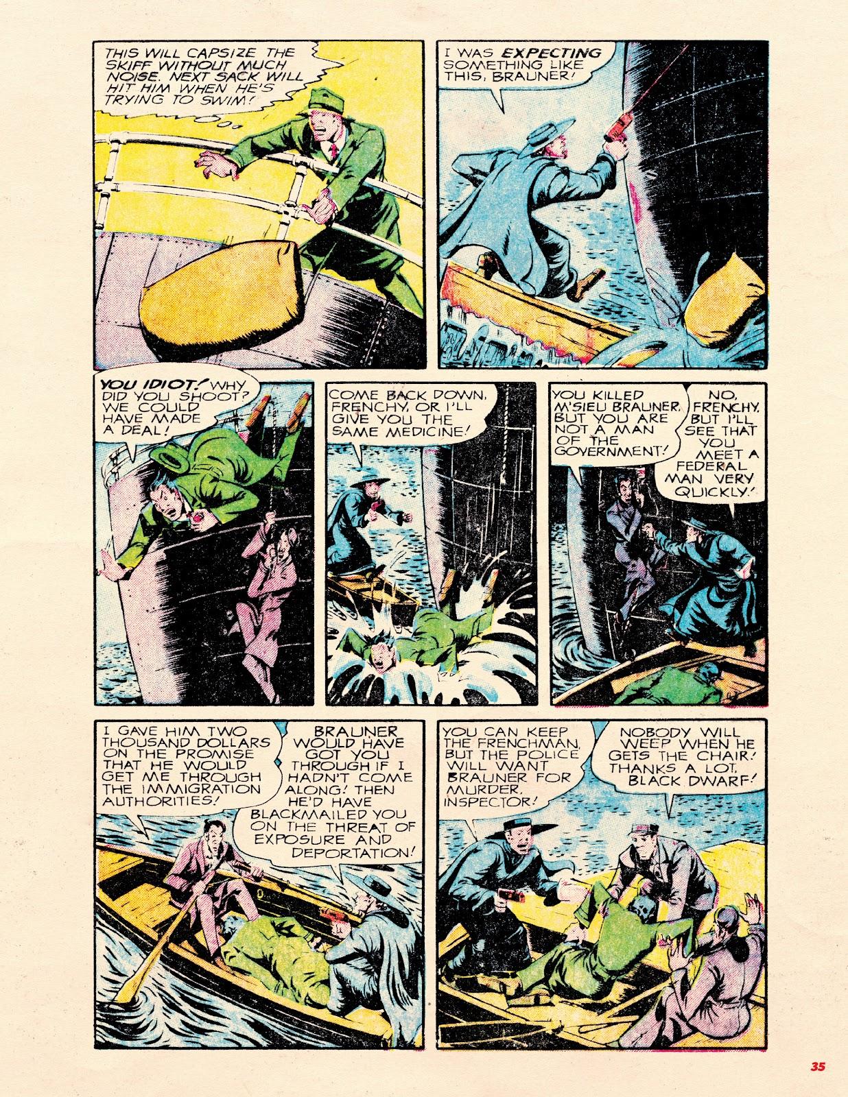 Read online Super Weird Heroes comic -  Issue # TPB 2 (Part 1) - 35