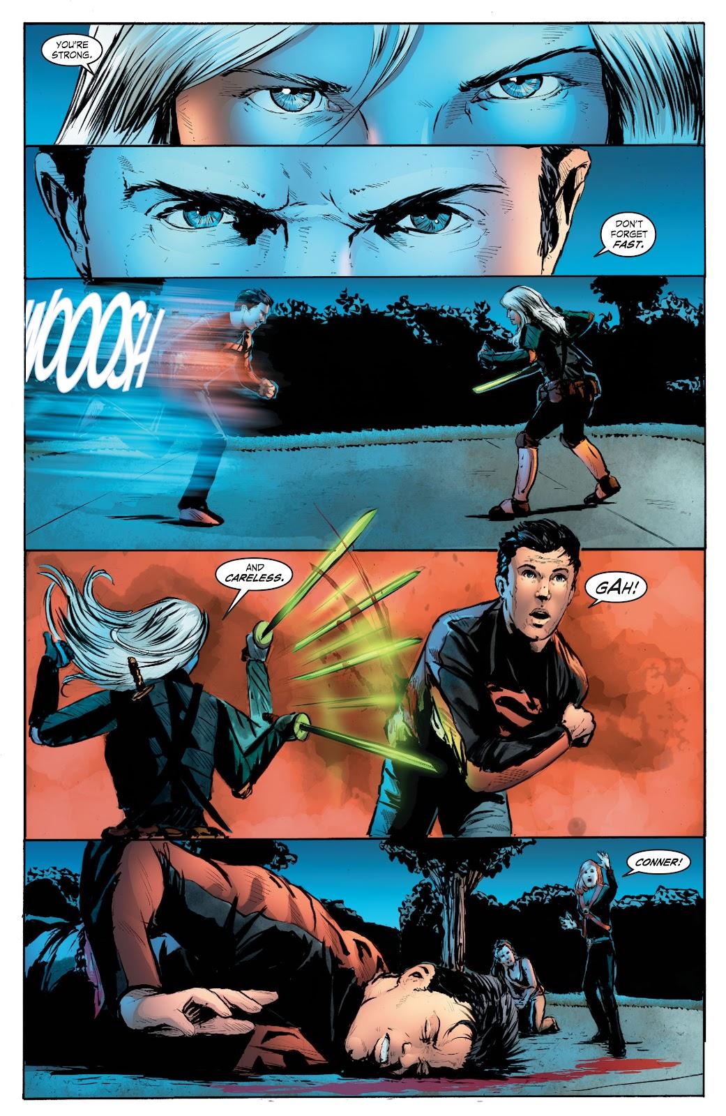 Read online Smallville Season 11 [II] comic -  Issue # TPB 7 - 164