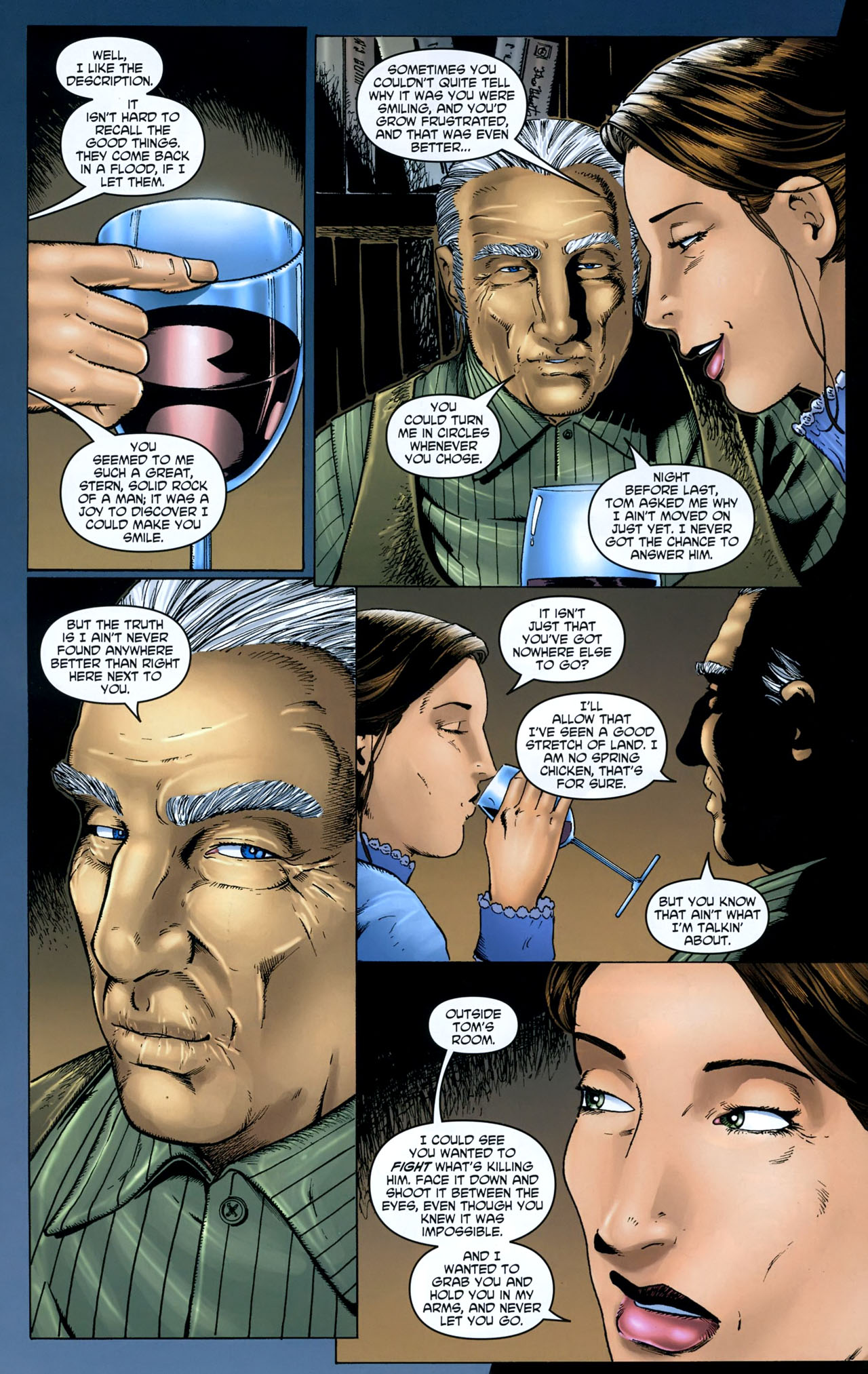 Read online Garth Ennis' Streets of Glory comic -  Issue #5 - 14