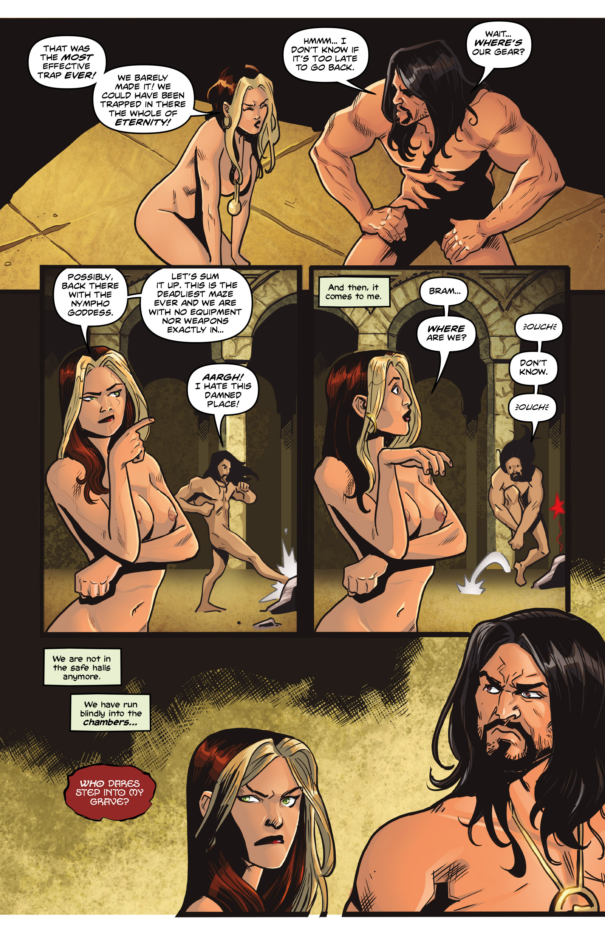 Read online Rogues!: The Burning Heart comic -  Issue #4 - 24