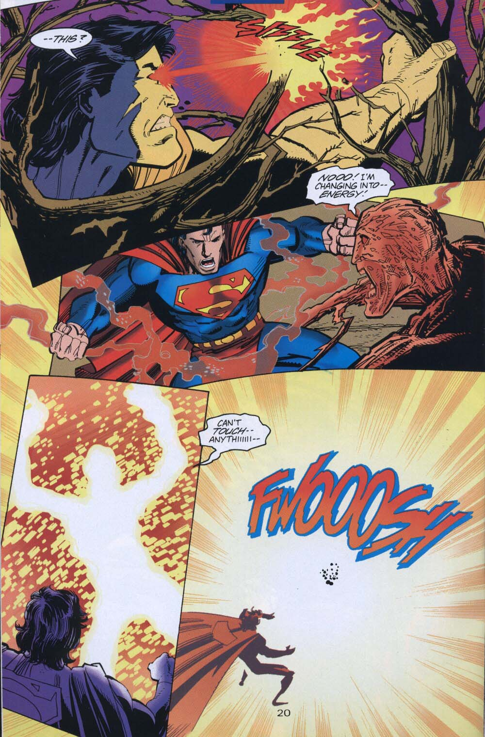 Read online Adventures of Superman (1987) comic -  Issue #539 - 21