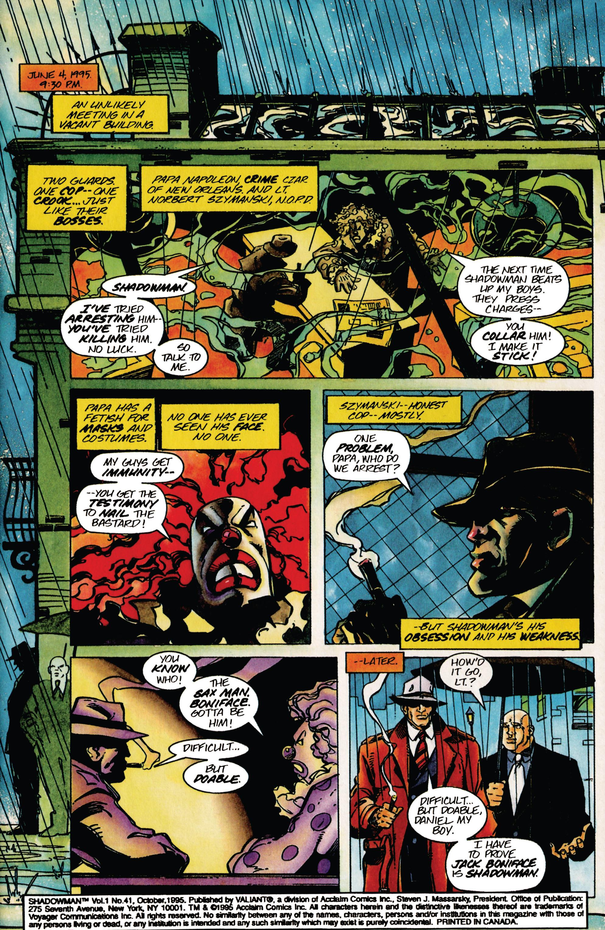 Read online Shadowman (1992) comic -  Issue #41 - 2