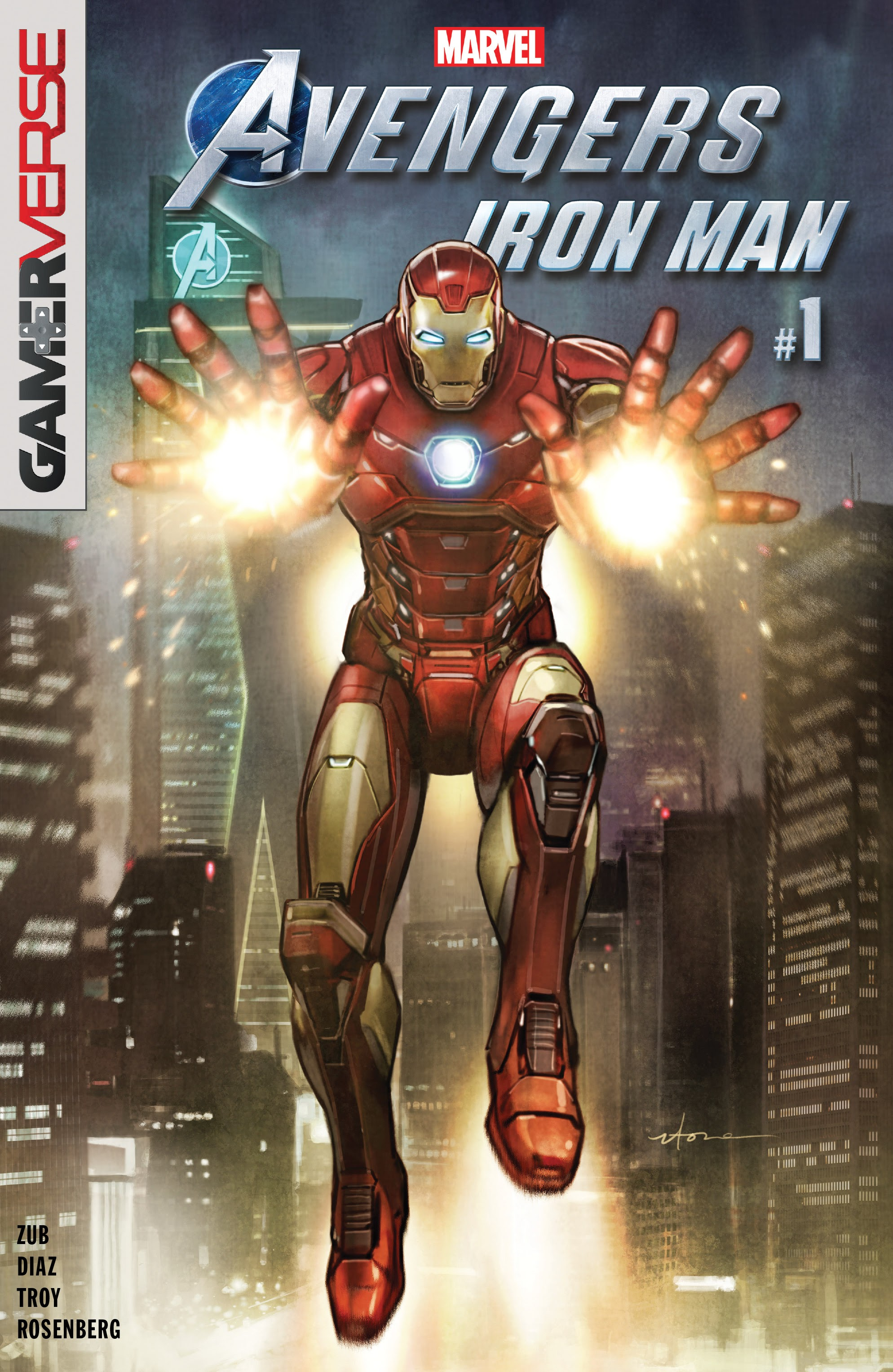 Marvels Avengers: Iron Man issue Full - Page 1