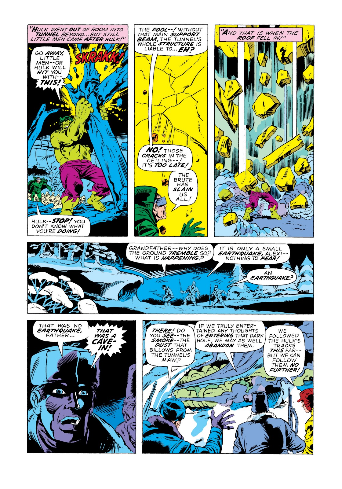 Read online Marvel Masterworks: The Incredible Hulk comic -  Issue # TPB 11 (Part 2) - 16
