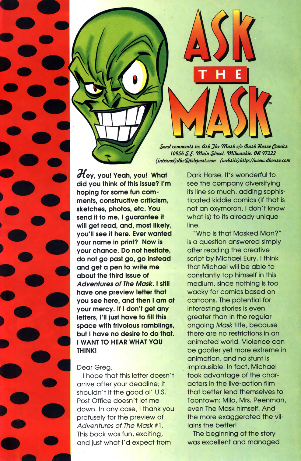 Read online Adventures Of The Mask comic -  Issue #3 - 26