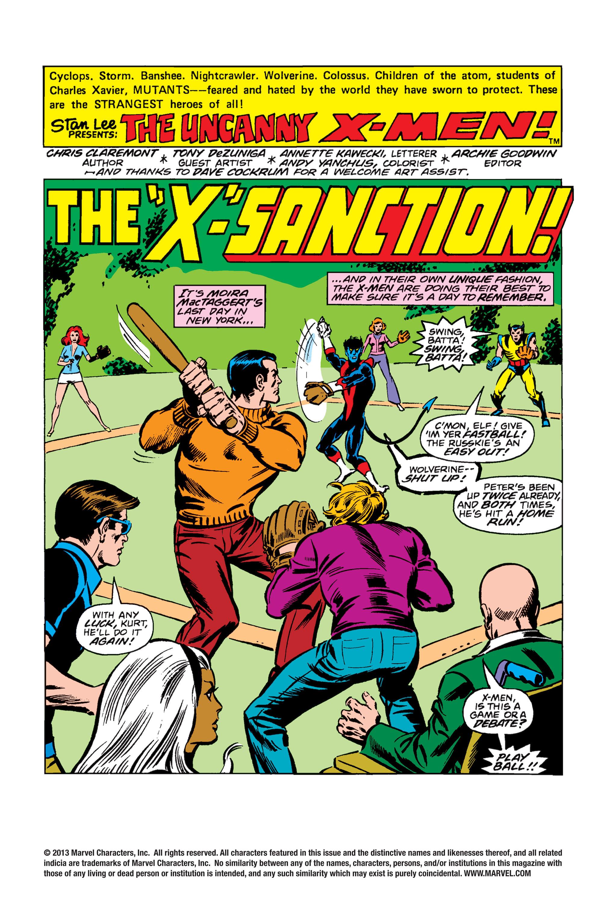 Read online Uncanny X-Men (1963) comic -  Issue #110 - 2