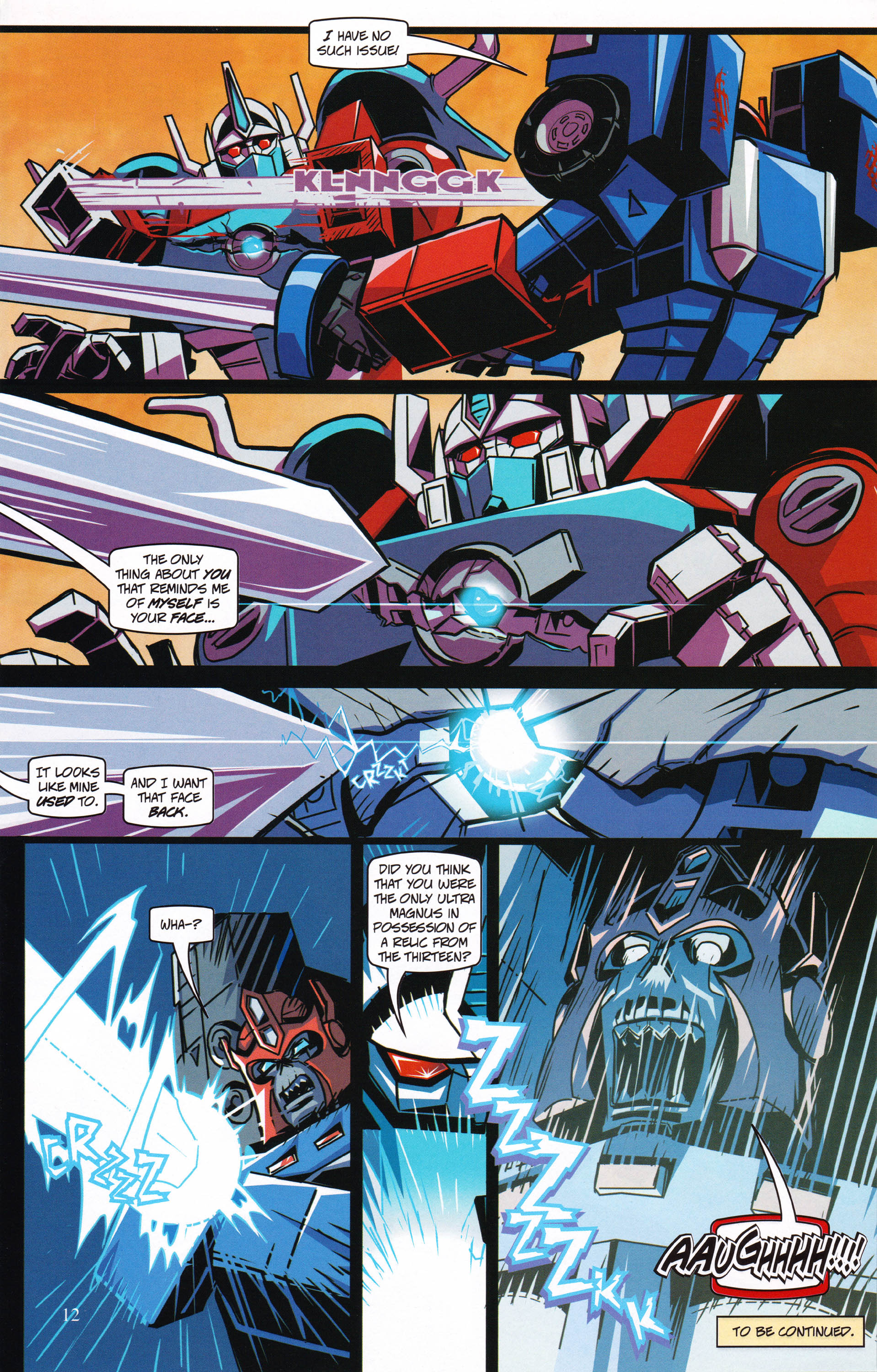 Read online Transformers: Collectors' Club comic -  Issue #62 - 12