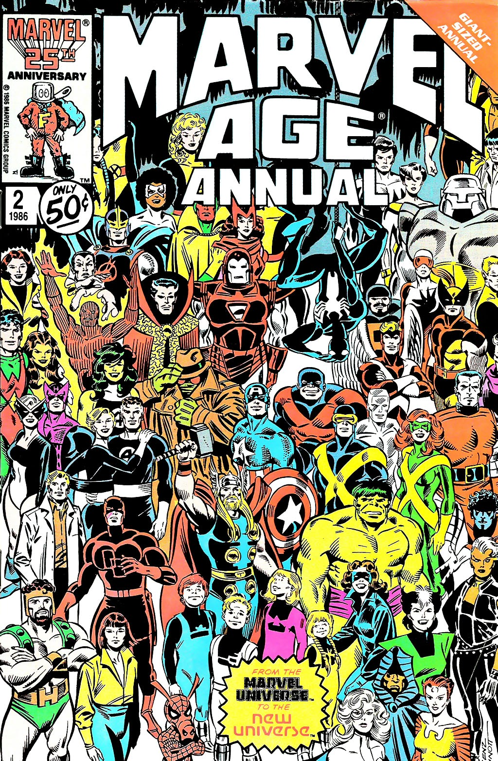Marvel Age Annual 2 Page 1