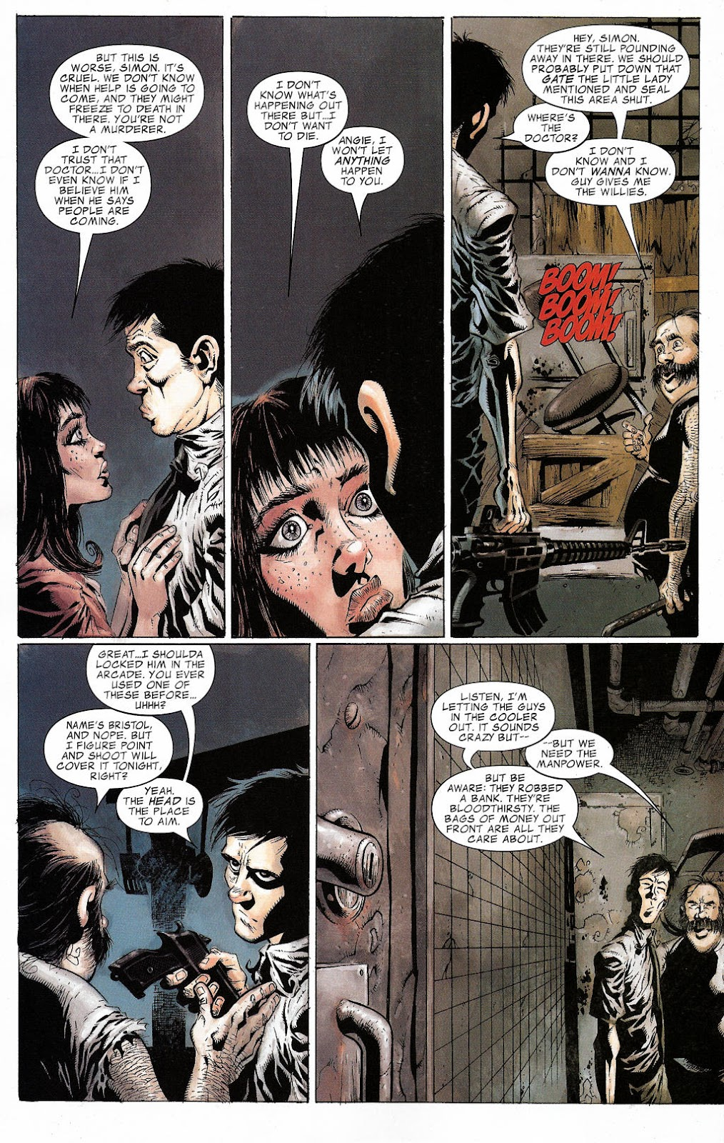 Read online Zombie (2006) comic -  Issue #2 - 15