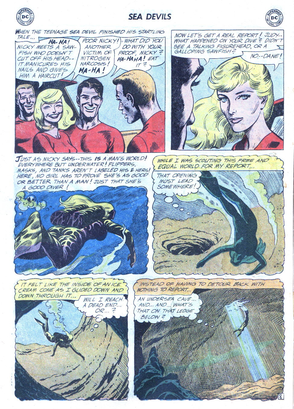 Read online Sea Devils comic -  Issue #4 - 11