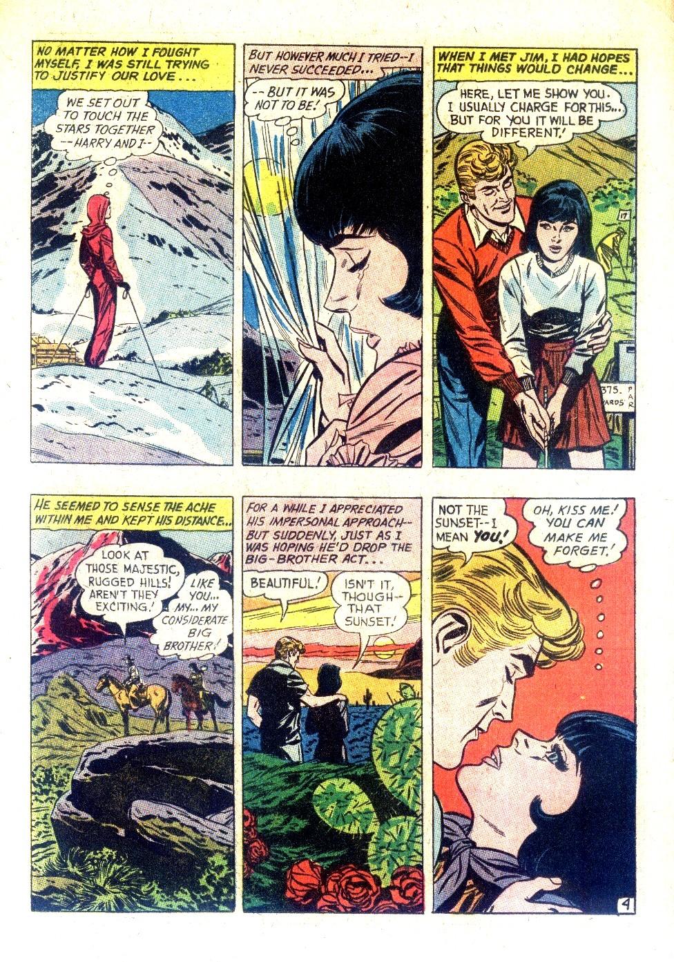 Read online Secret Hearts comic -  Issue #128 - 12