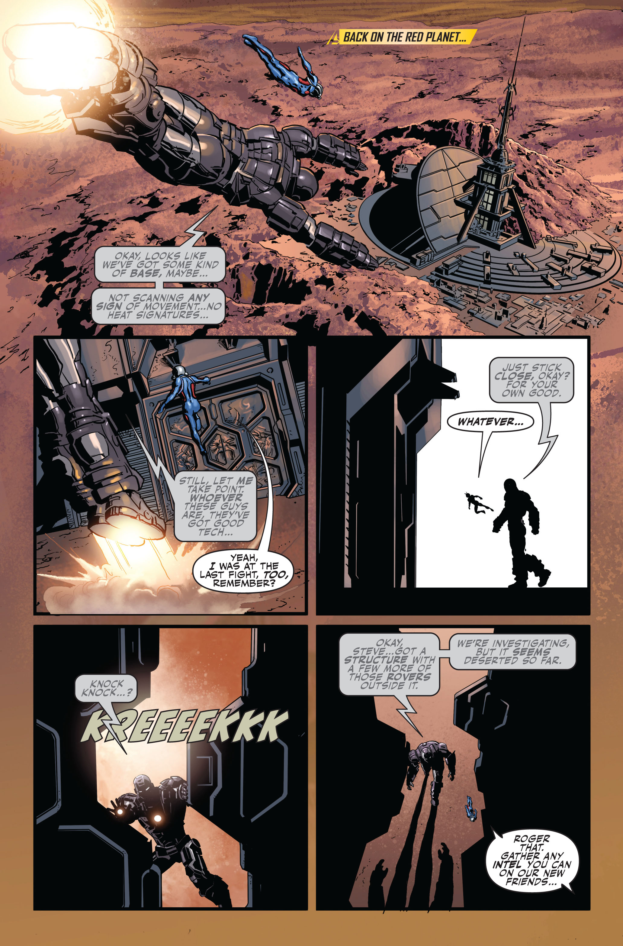 Read online Secret Avengers (2010) comic -  Issue #2 - 16