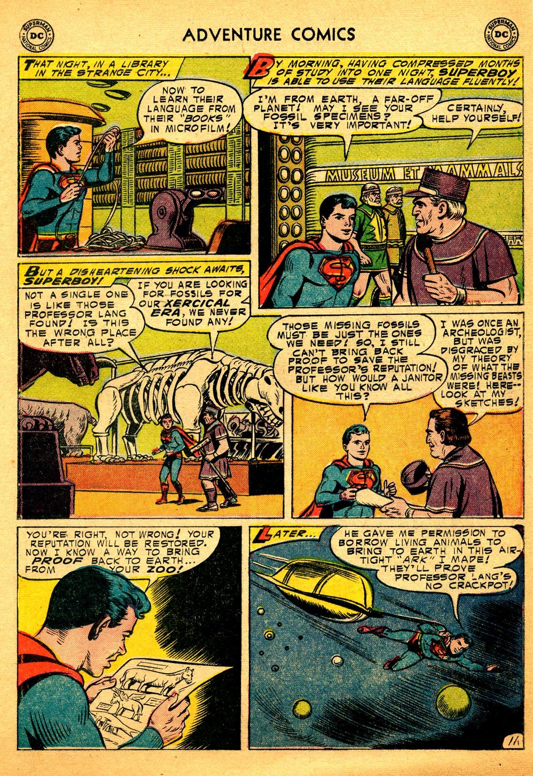 Read online Adventure Comics (1938) comic -  Issue #206 - 13