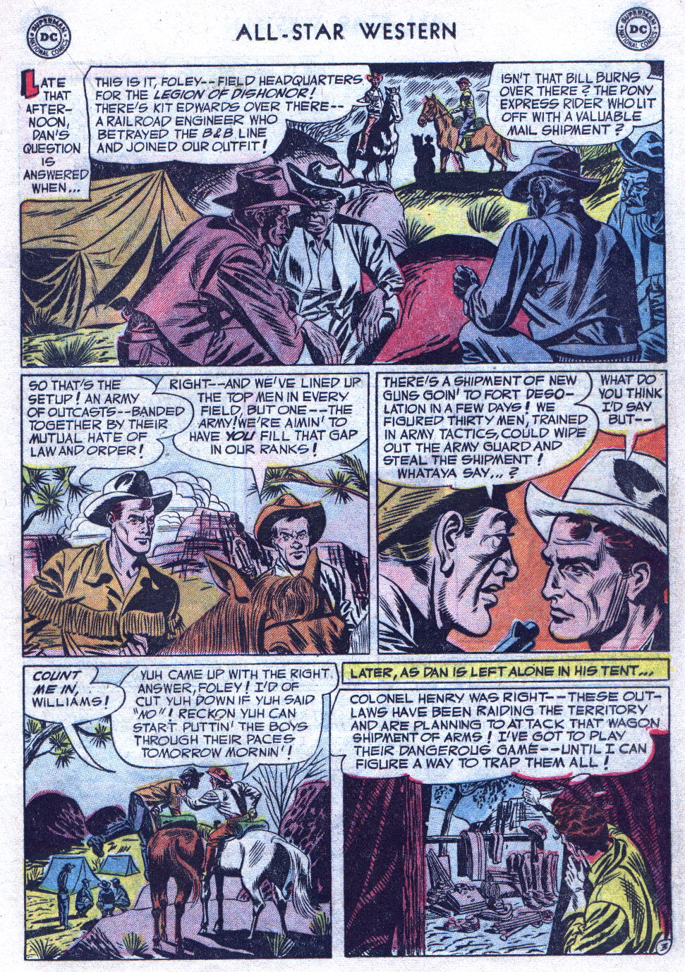 Read online All-Star Western (1951) comic -  Issue #69 - 21