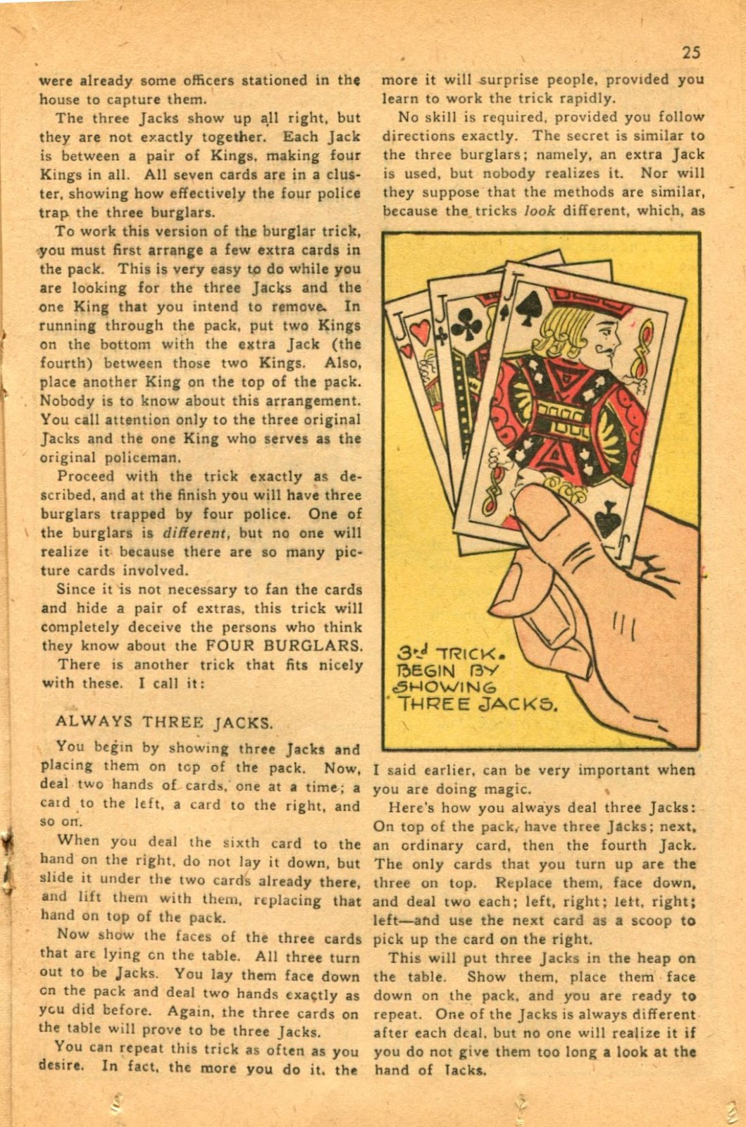 Read online Super-Magician Comics comic -  Issue #46 - 25