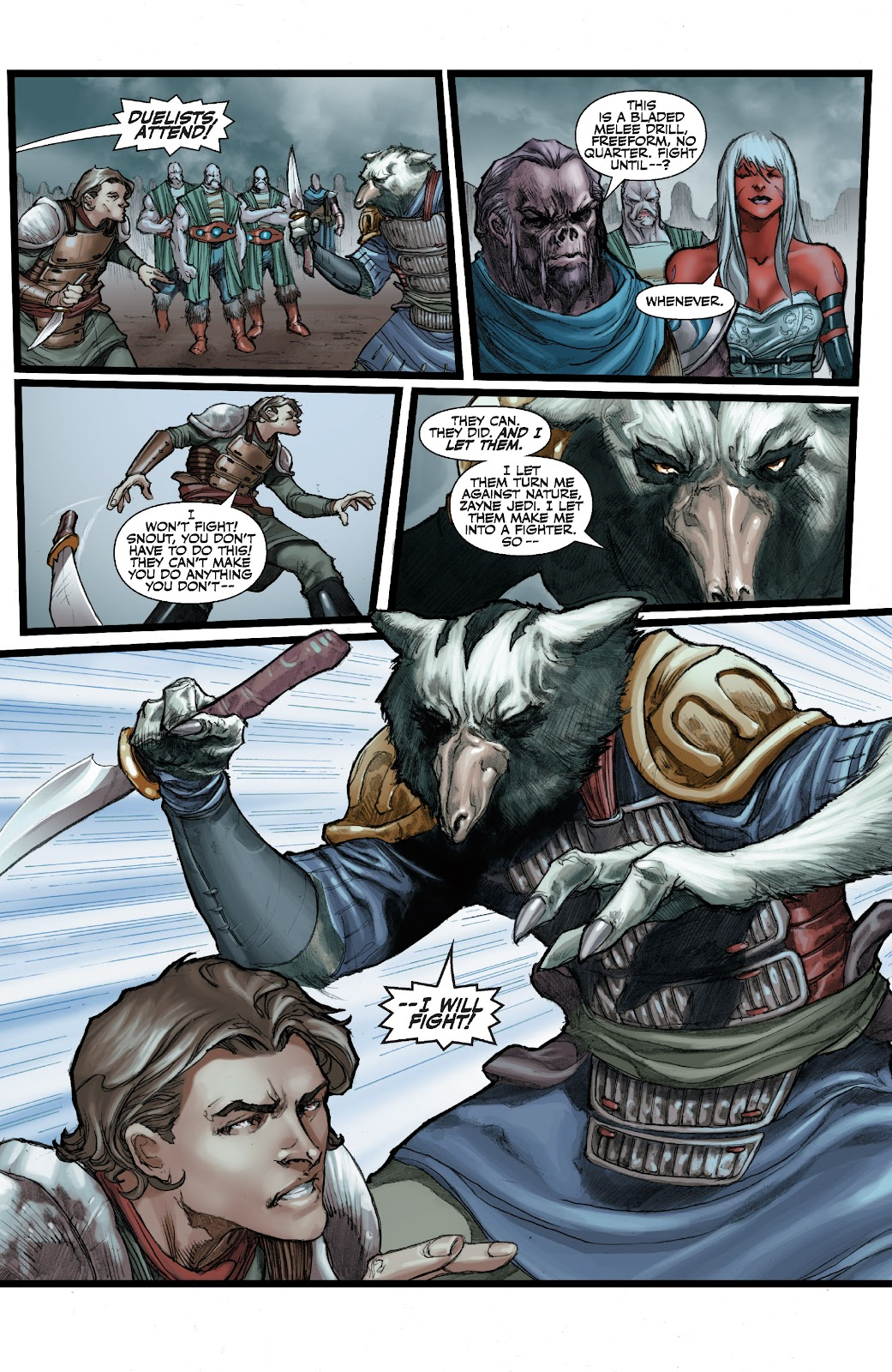 Read online Star Wars Legends: The Old Republic - Epic Collection comic -  Issue # TPB 3 (Part 3) - 2