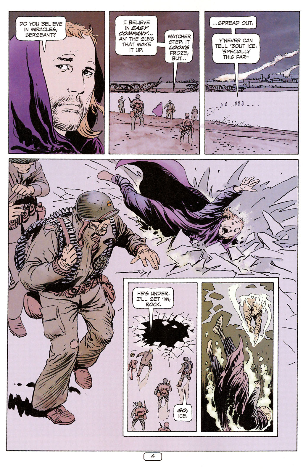 Read online Sgt. Rock: The Prophecy comic -  Issue #6 - 4
