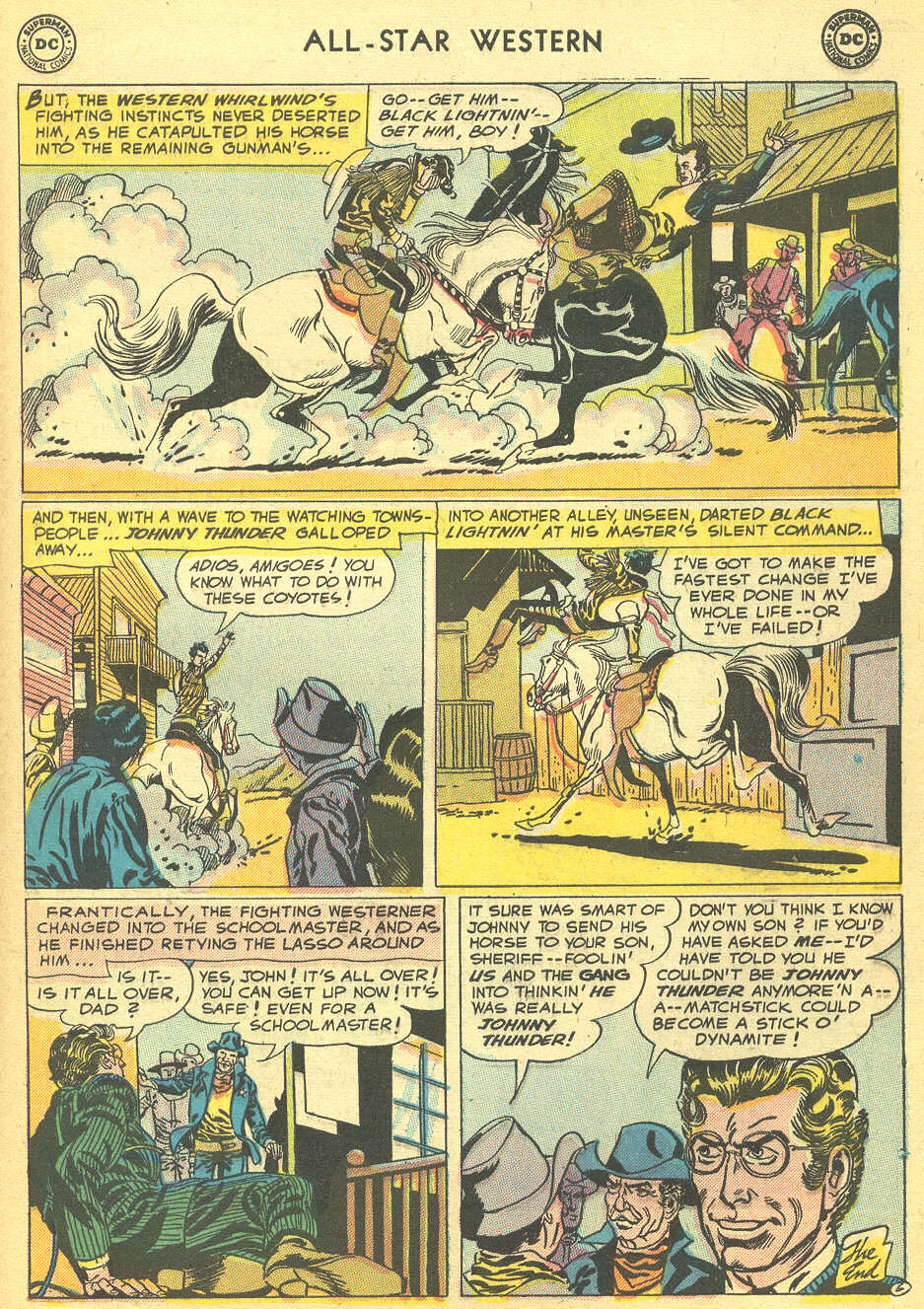 Read online All-Star Western (1951) comic -  Issue #92 - 33