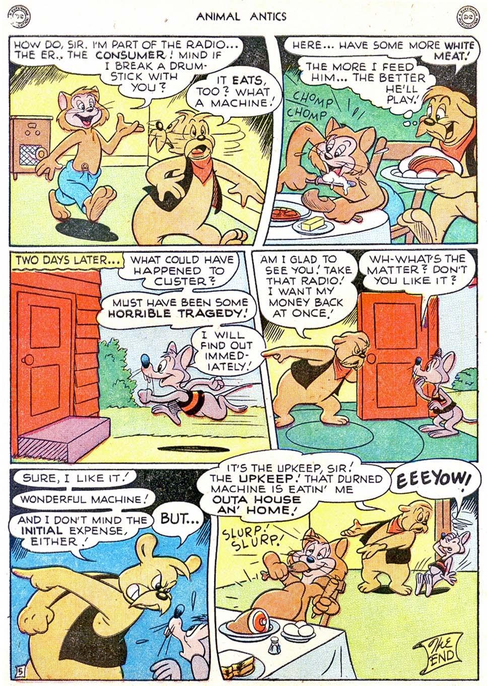 Read online Animal Antics comic -  Issue #11 - 14