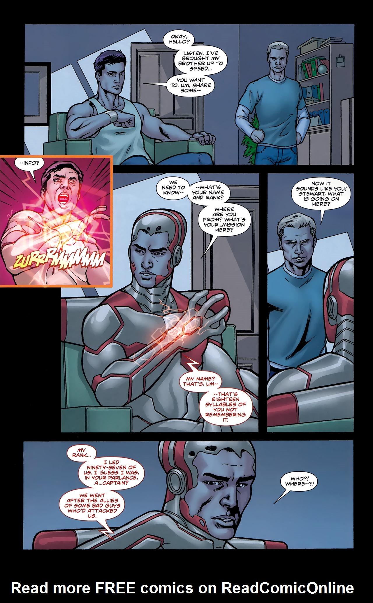 Read online Soldier Zero comic -  Issue #2 - 12