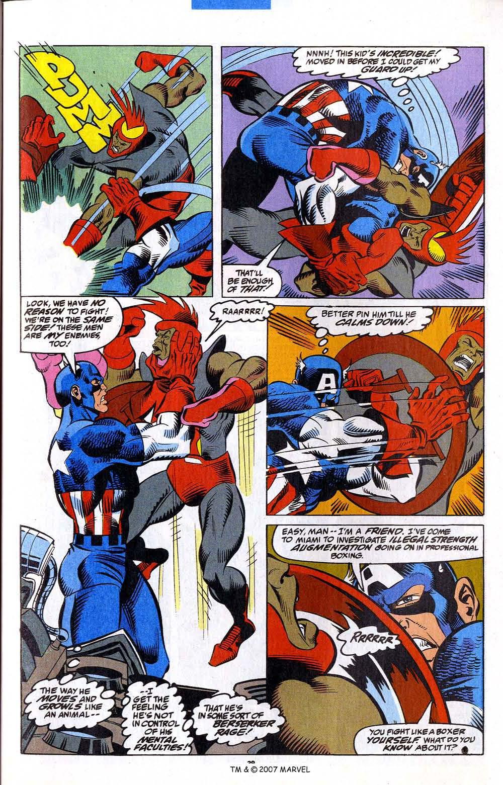Read online Captain America (1968) comic -  Issue # _Annual 12 - 41