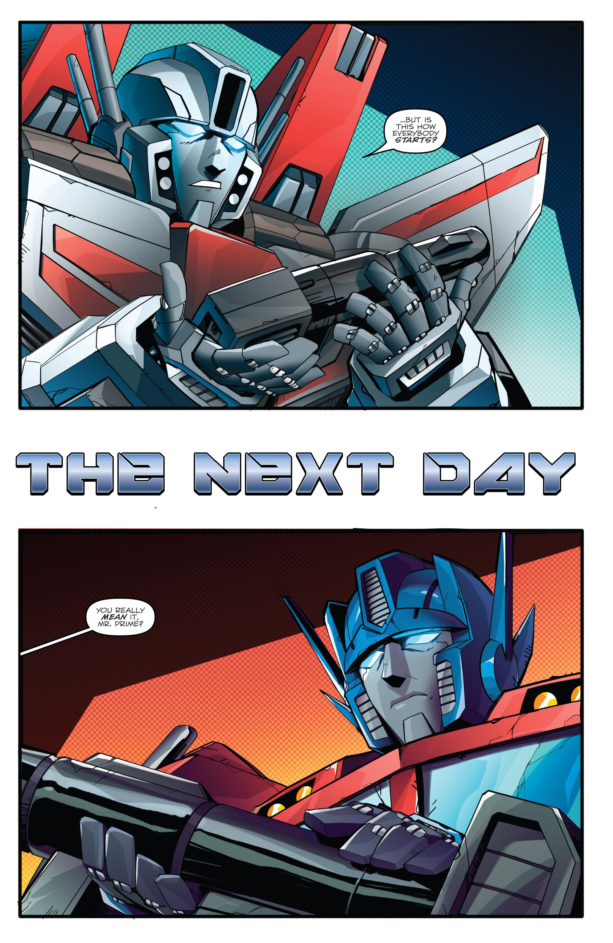 Read online Optimus Prime comic -  Issue #7 - 6