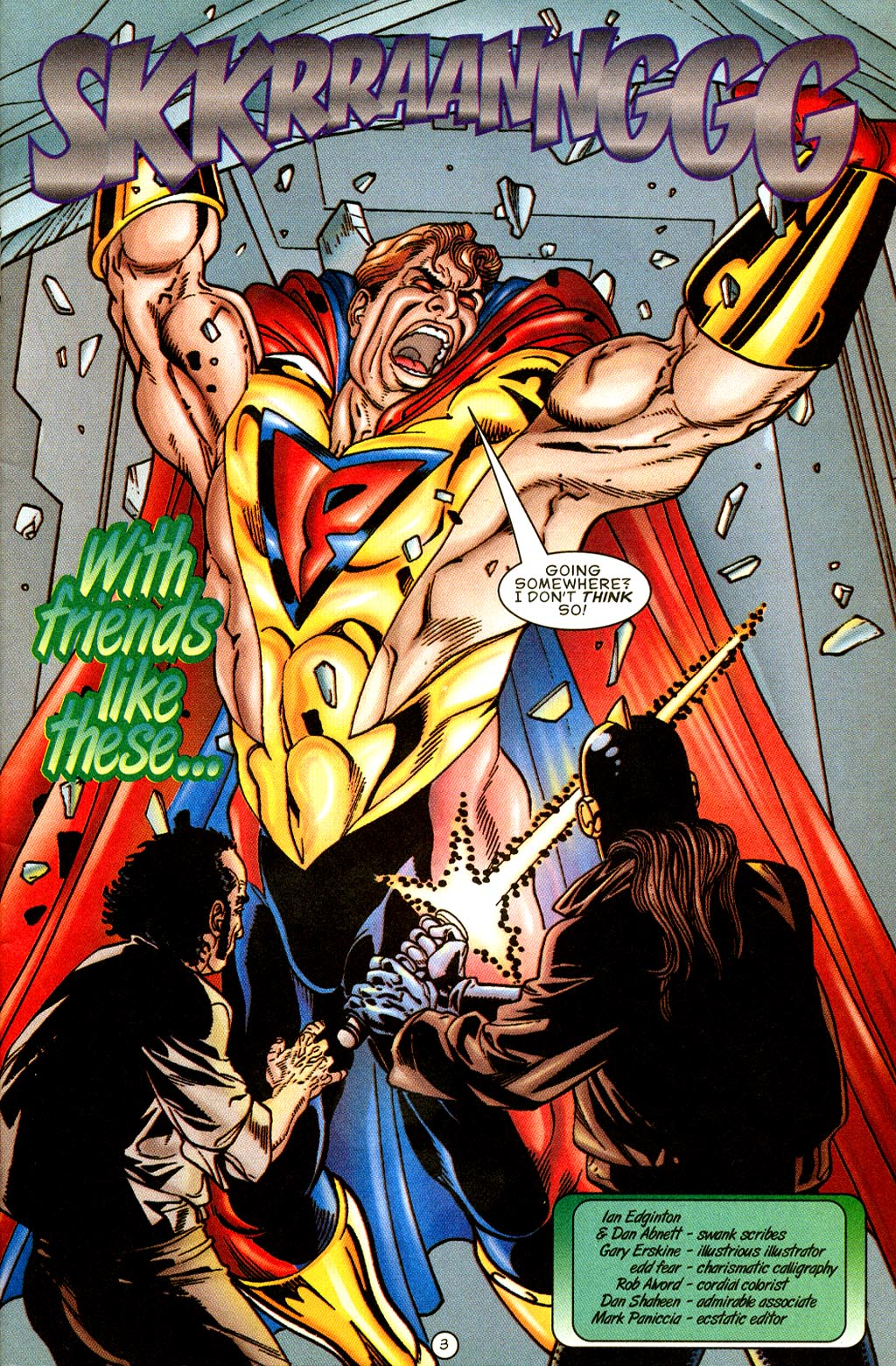 Read online UltraForce (1995) comic -  Issue #8 - 4