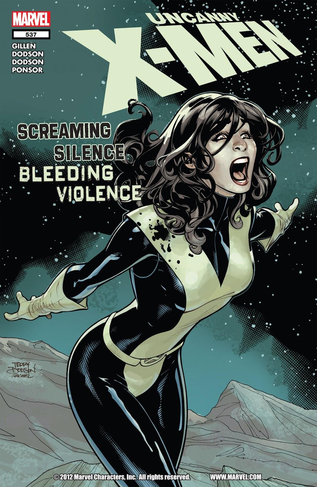 Uncanny X-Men (1963) issue 537 - Page 1