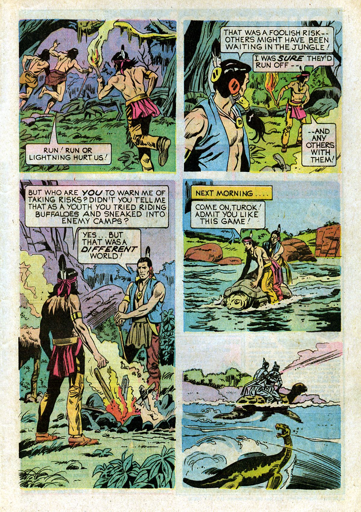 Read online Turok, Son of Stone comic -  Issue #93 - 29