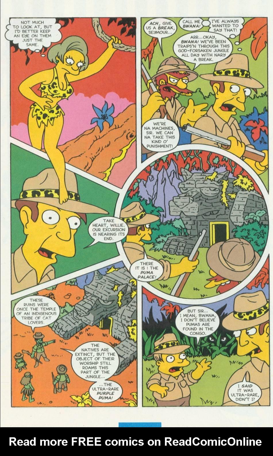 Read online Simpsons Comics comic -  Issue #8 - 25