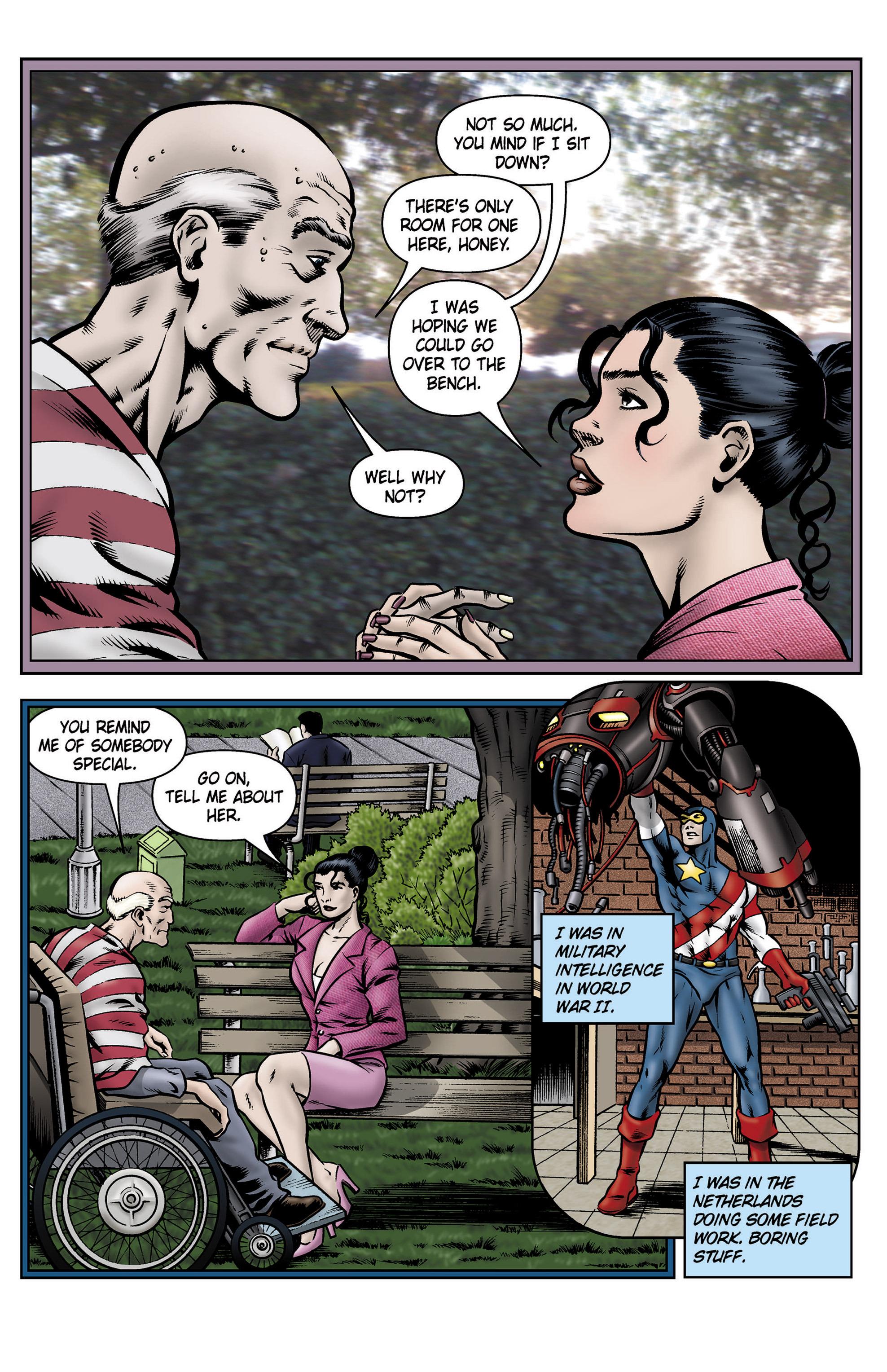 Read online SideChicks comic -  Issue #5 - 7