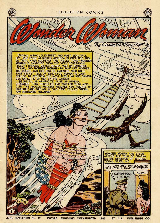 Read online Sensation (Mystery) Comics comic -  Issue #42 - 3