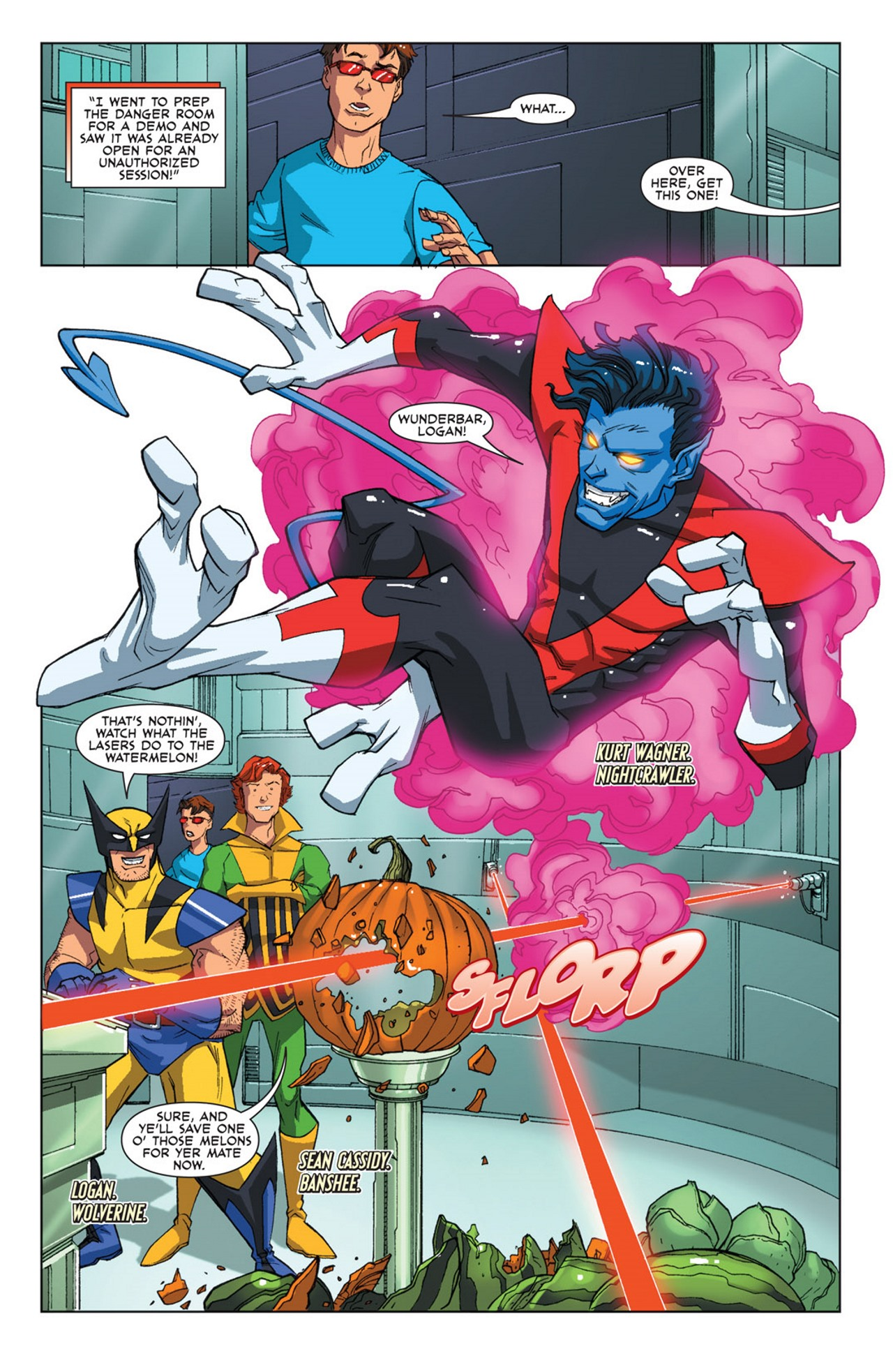 Read online Uncanny X-Men: First Class Giant-Size Special comic -  Issue # Full - 4
