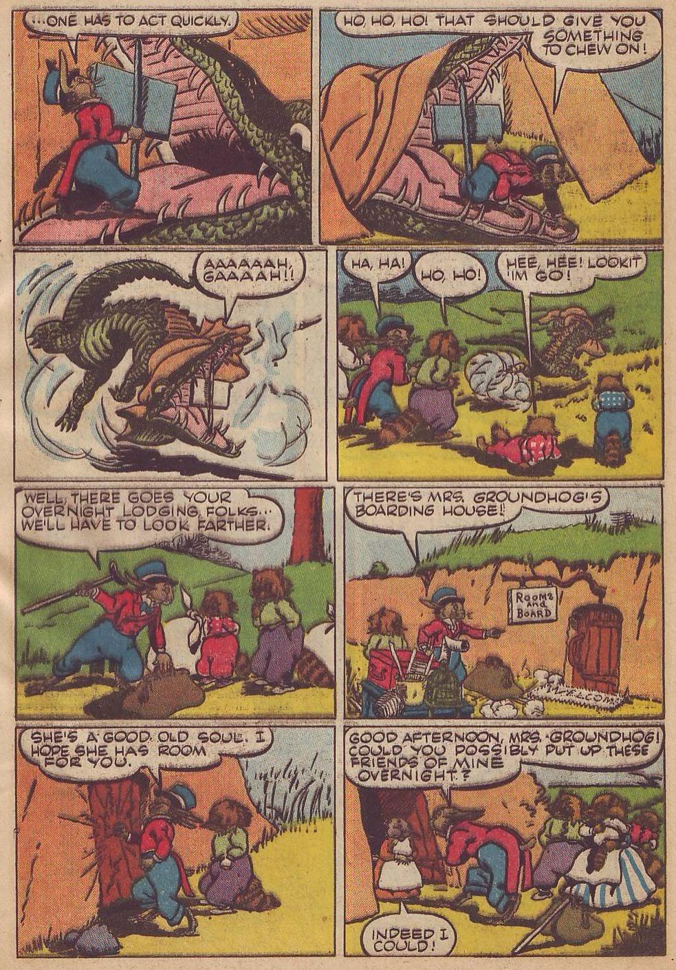 Read online Animal Comics comic -  Issue #13 - 5