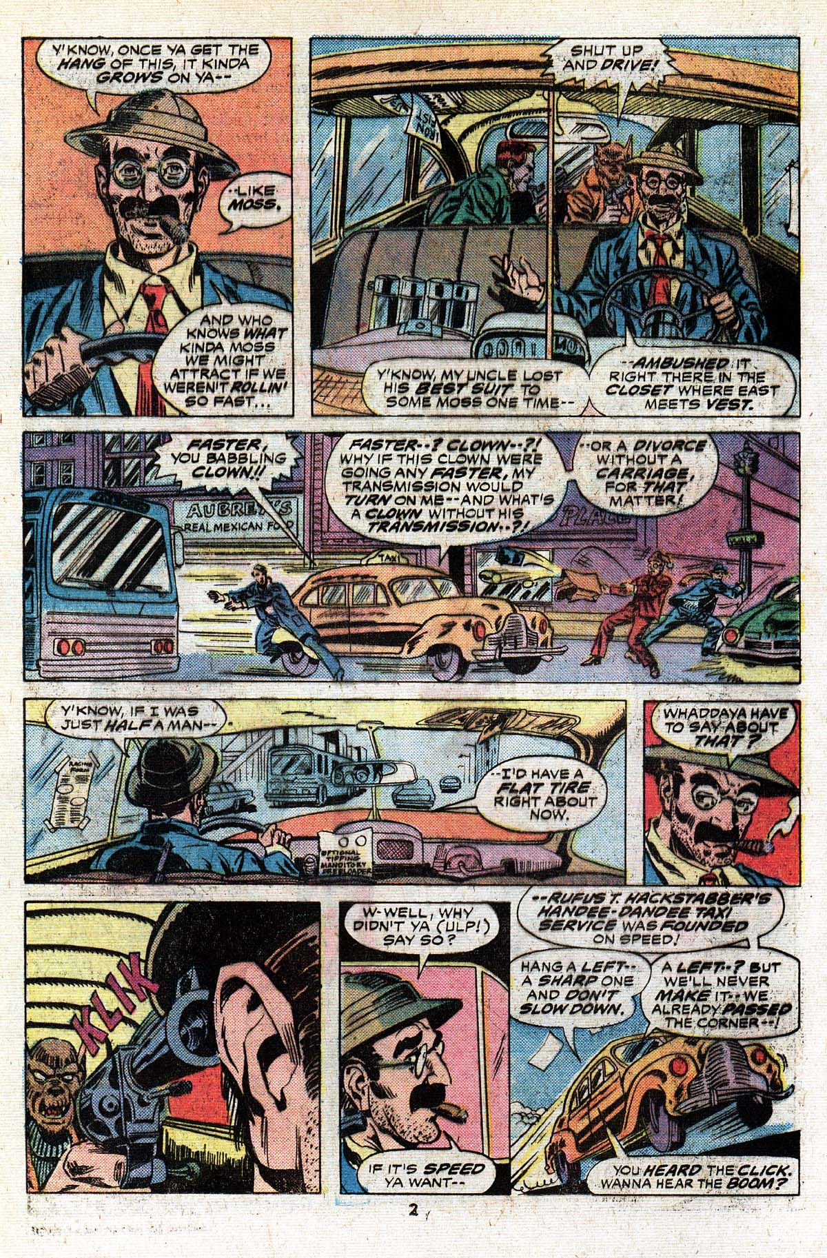 Read online Giant-Size Master of Kung Fu comic -  Issue #4 - 3