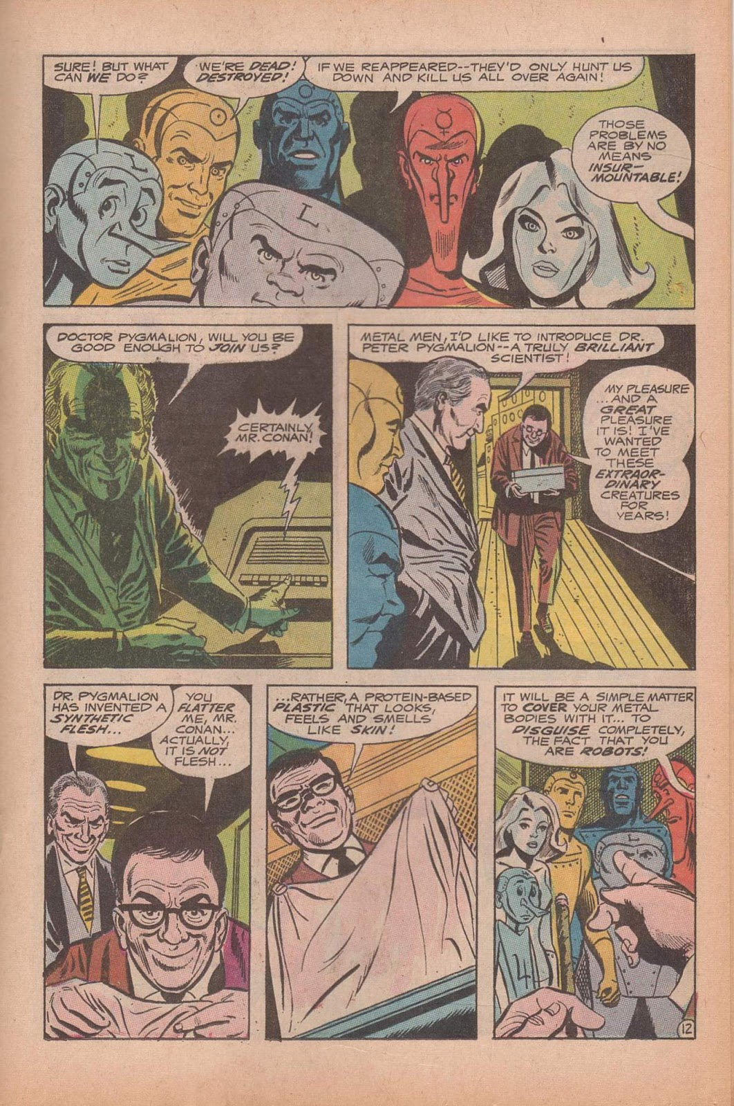Metal Men (1963) issue 37 - Page 17