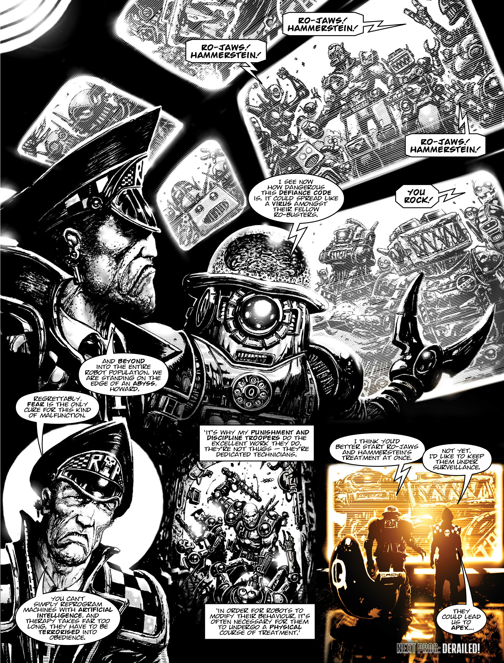 Read online 2000 AD comic -  Issue #1964 - 25