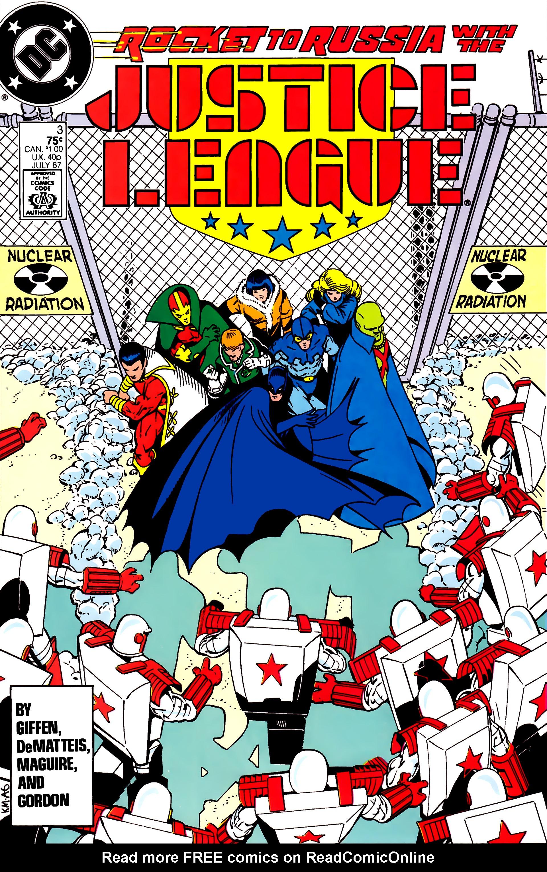 Justice League (1987) 3 Page 1