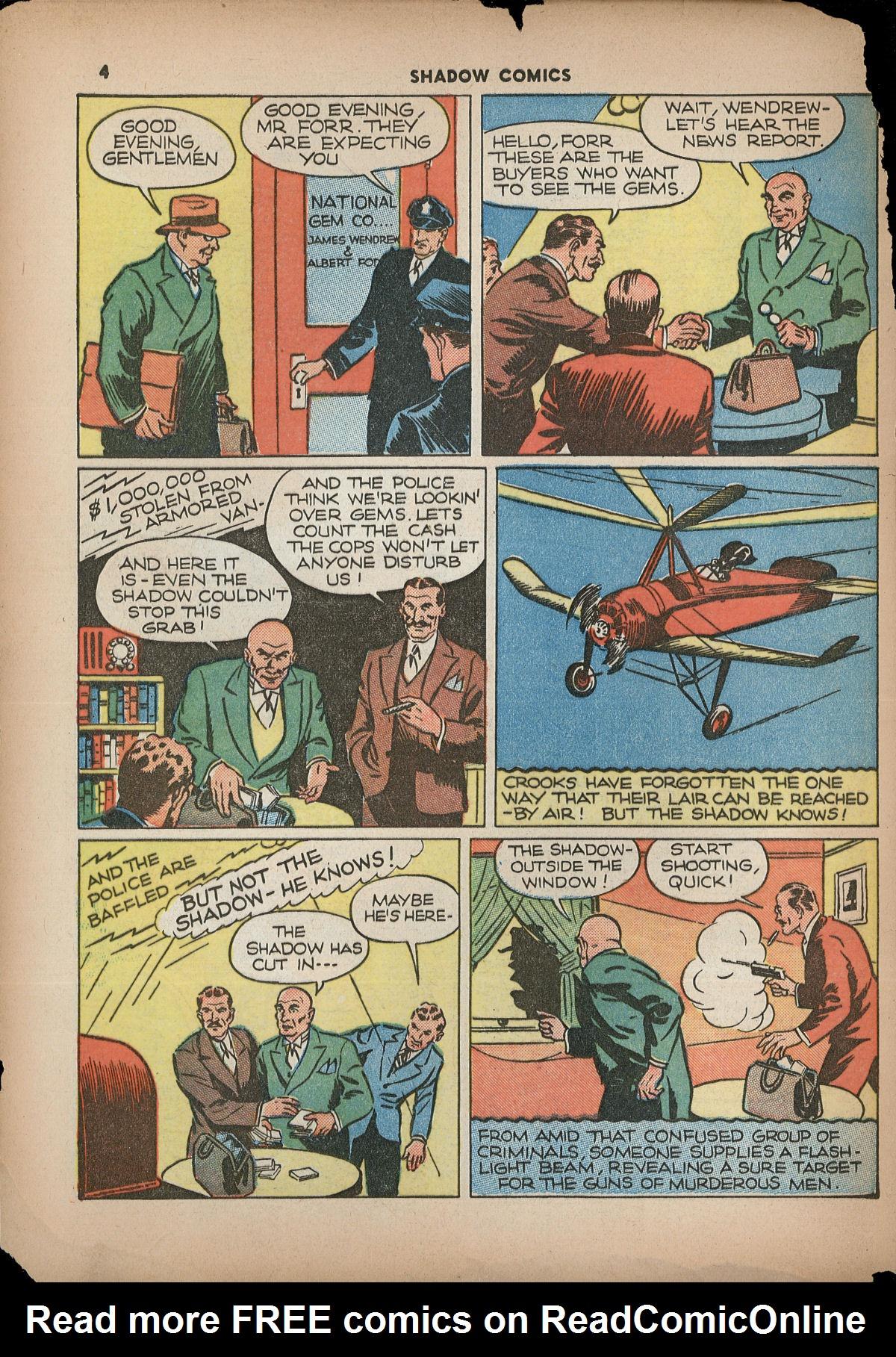Read online Shadow Comics comic -  Issue #2 - 7