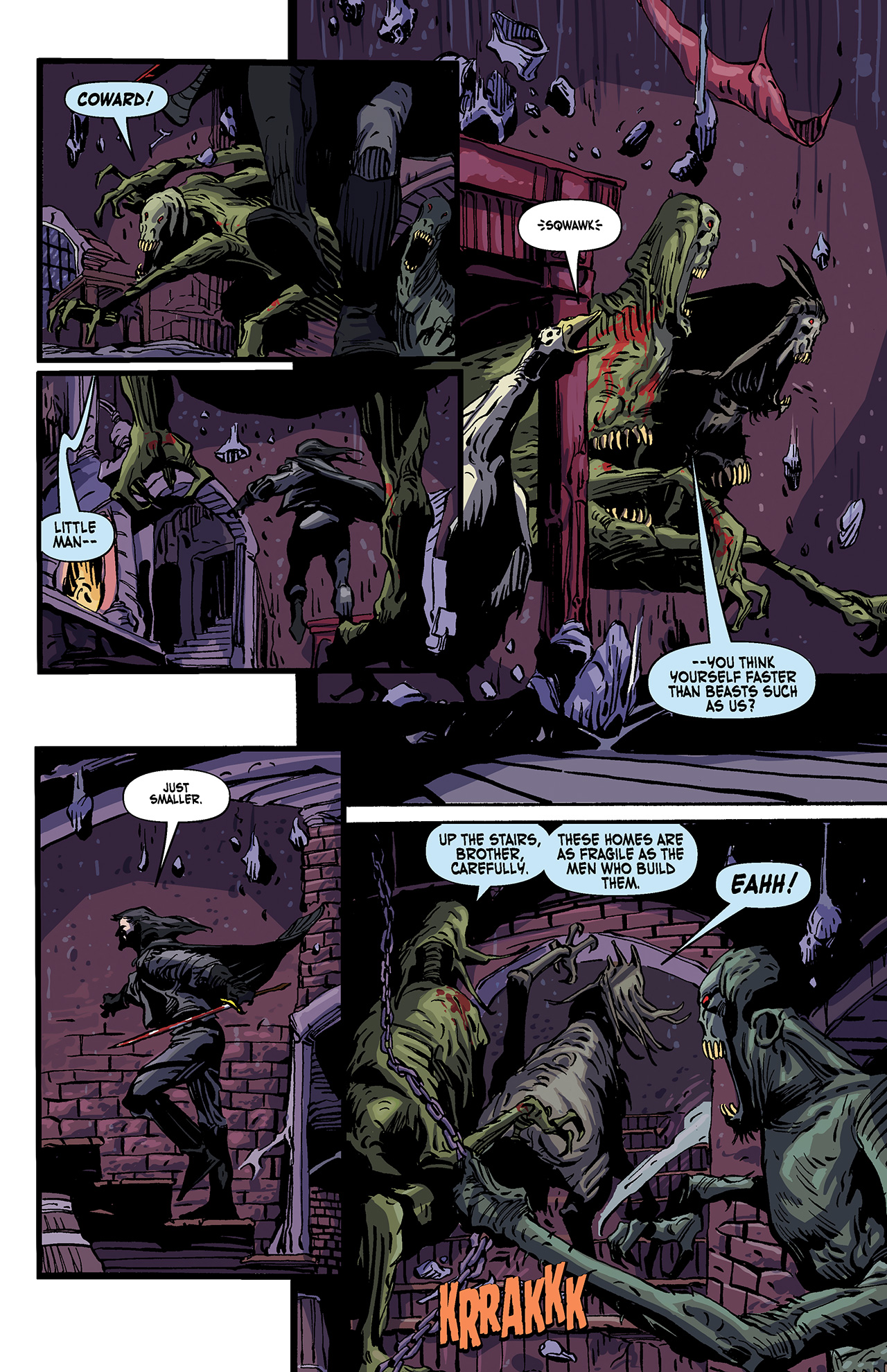 Read online Solomon Kane: Death's Black Riders comic -  Issue #4 - 13