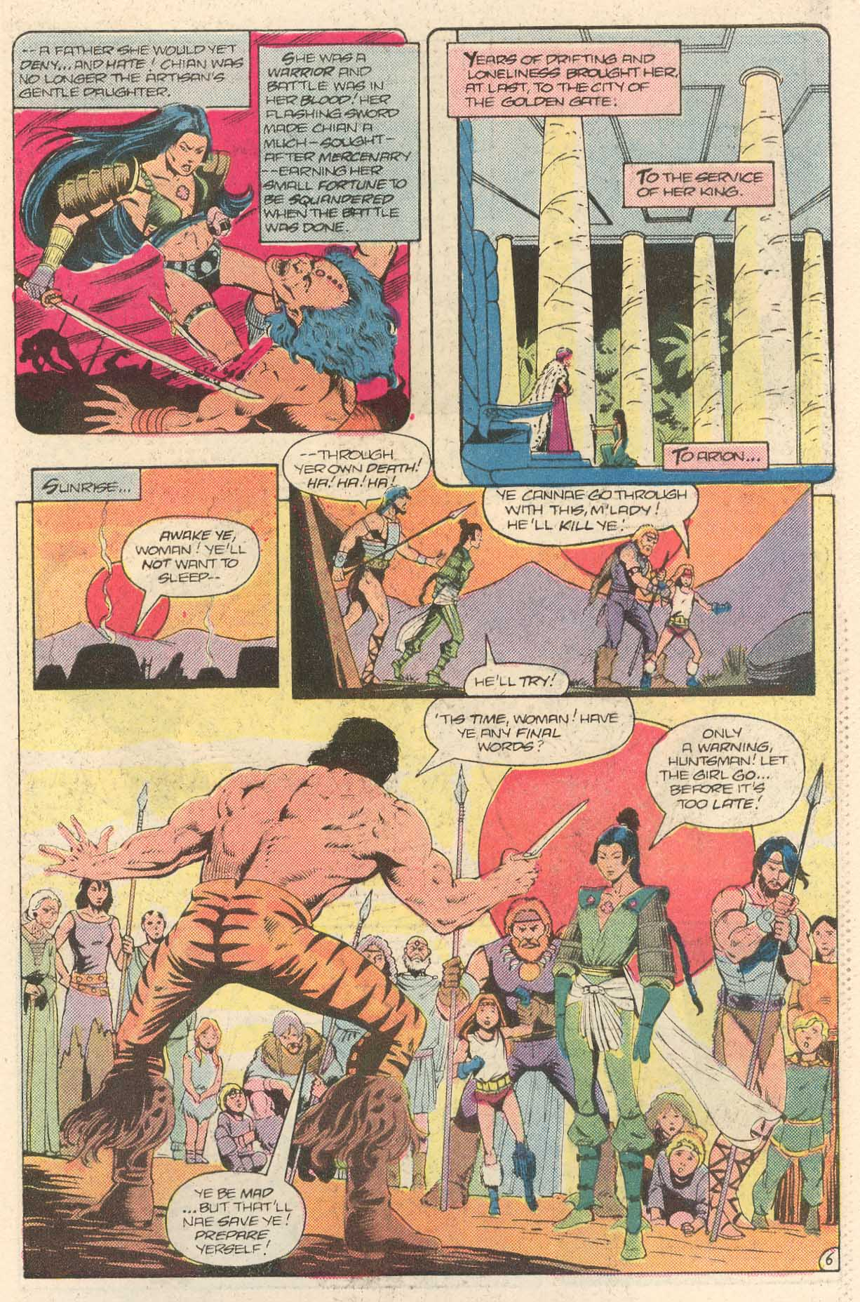 Read online Arion, Lord of Atlantis comic -  Issue #28 - 21