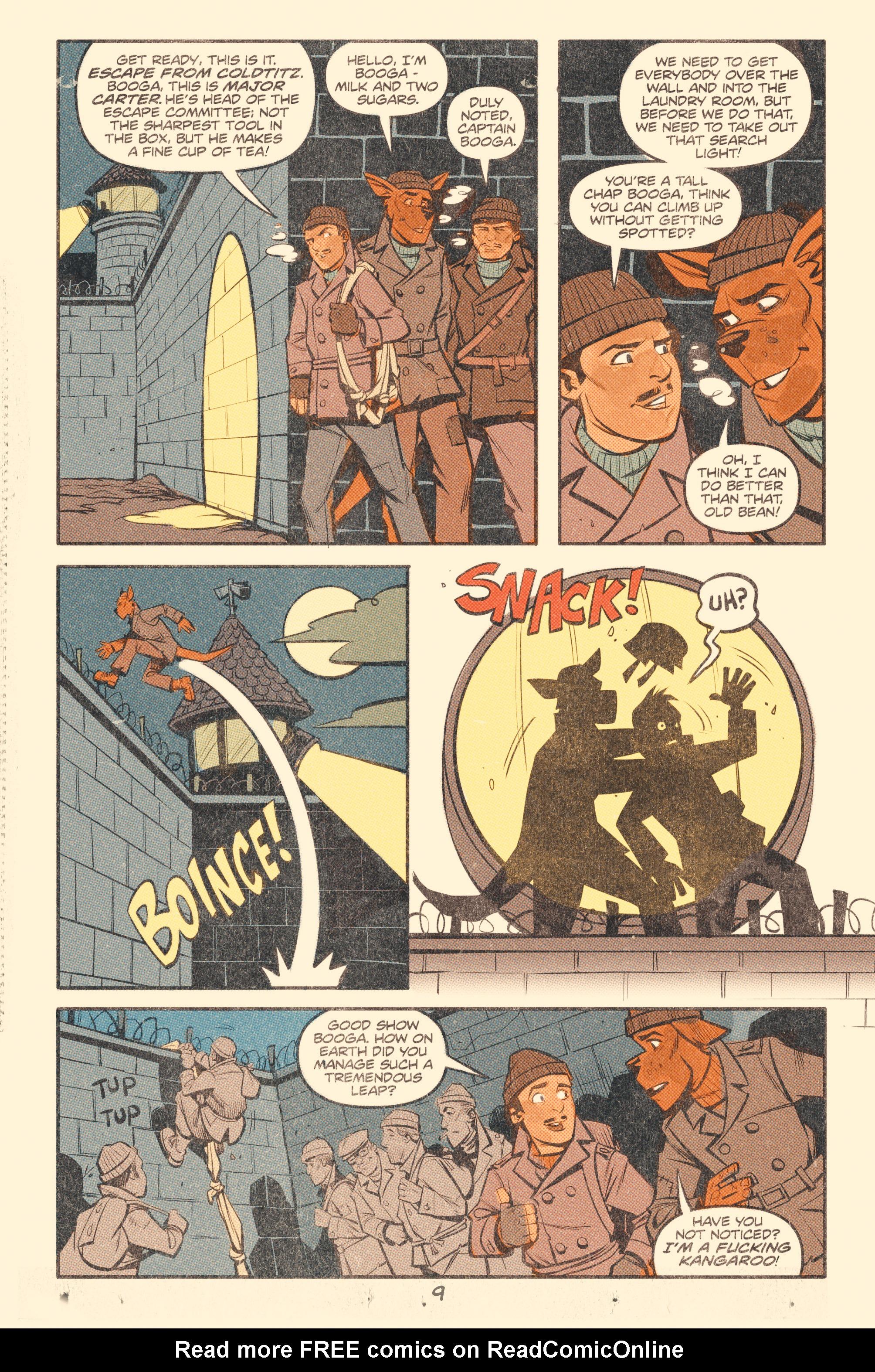 Read online Tank Girl: World War Tank Girl comic -  Issue #2 - 11