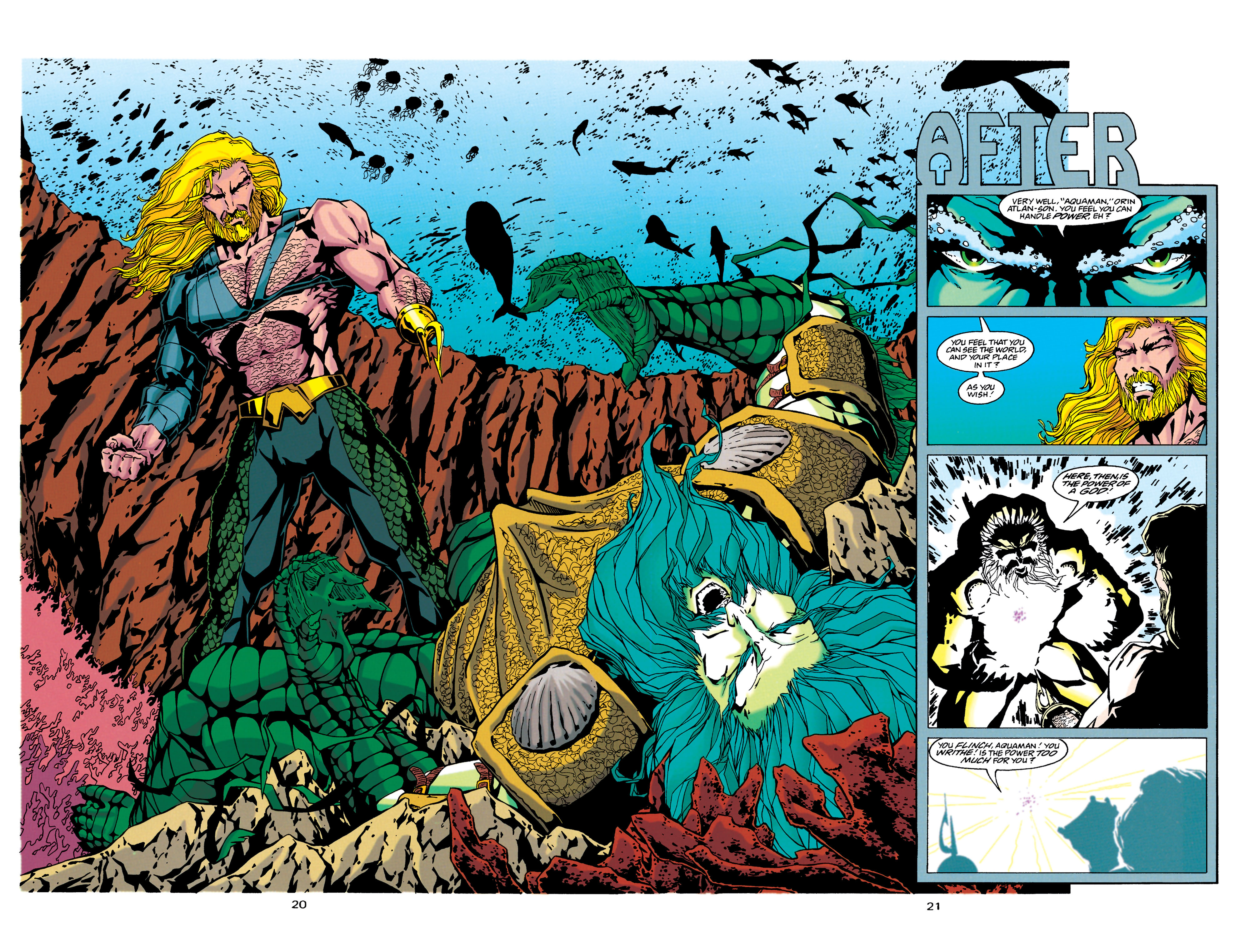Read online Aquaman (1994) comic -  Issue #34 - 17
